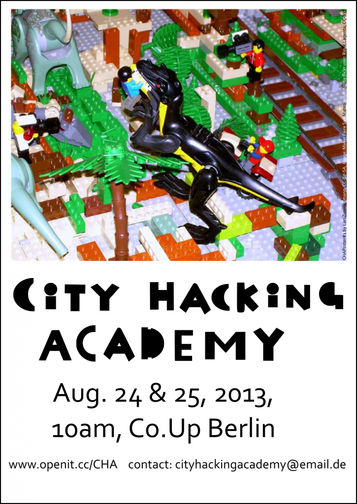 "City Hacking Academy Poster, IMG_ ""Maker Faire San Mateo 2008 (62)"", CC-BY-ND, BY FLICKR USER: Rip R.Lagenta"